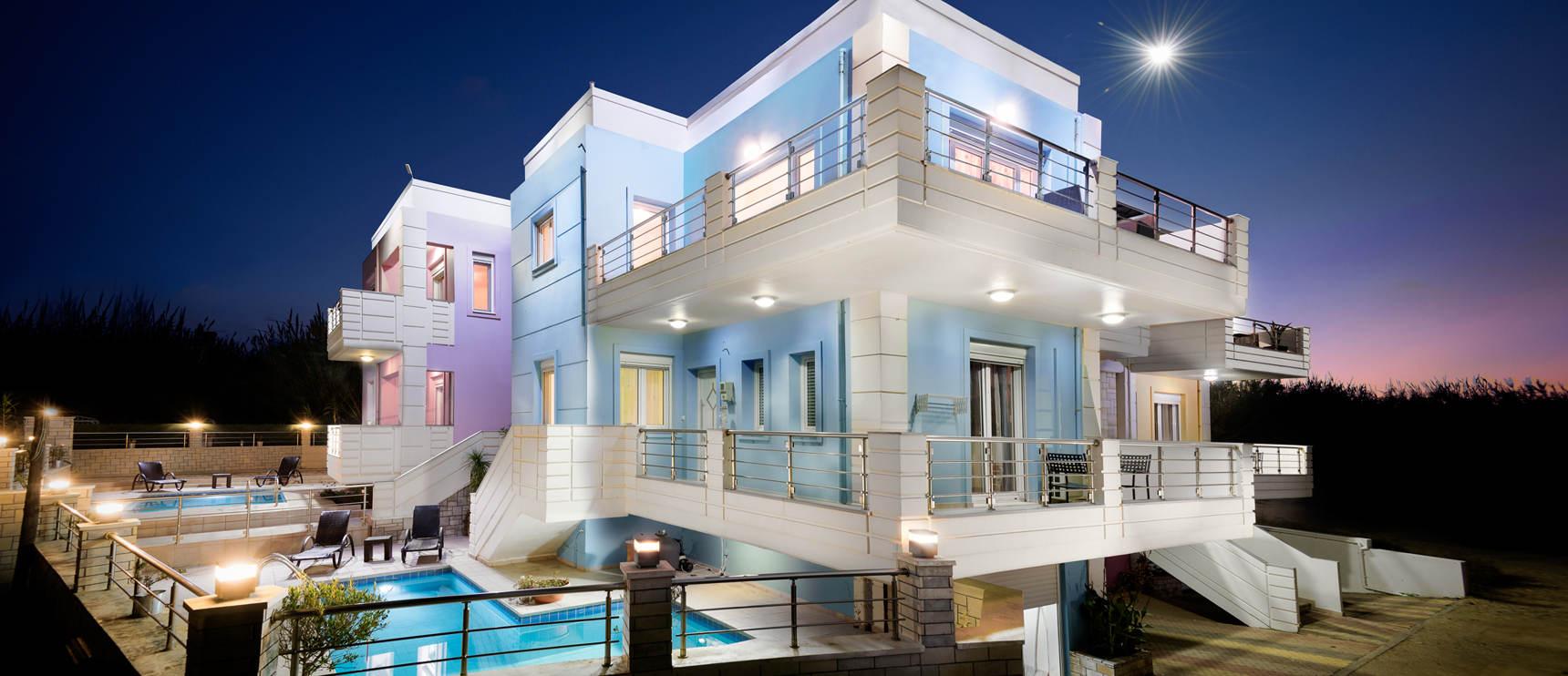 kronos luxury villas u2013 live like a greek god